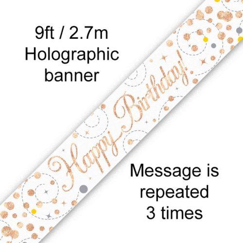 Banner Rose Gold Fizz