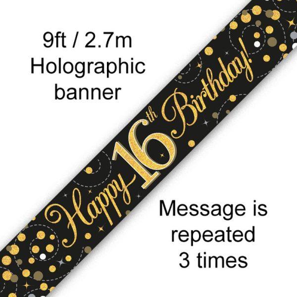 Black Fizz 16th Birthday
