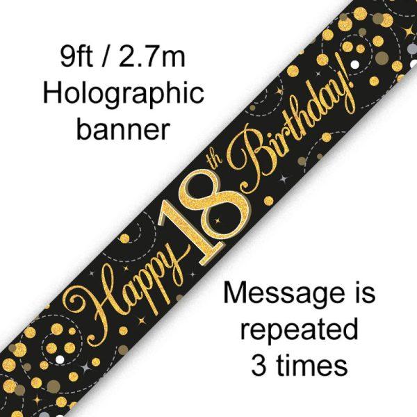 Black Fizz 18th Birthday
