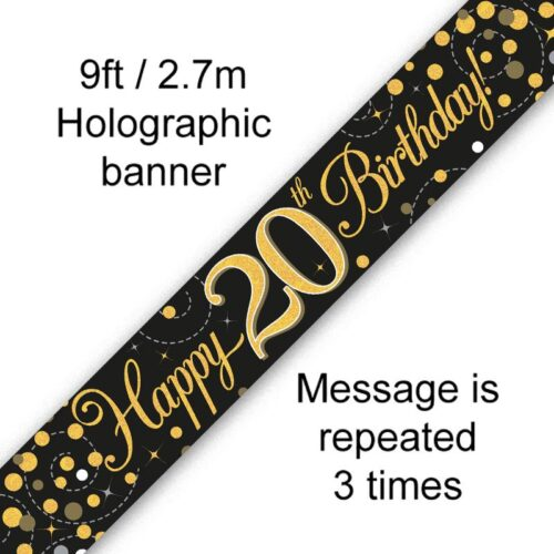 Banner Black Fizz 20th