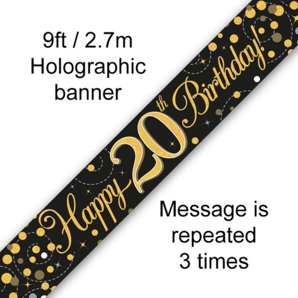 Banner Black Fizz 20th