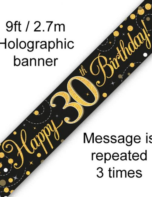 Banner Black Fizz 30th