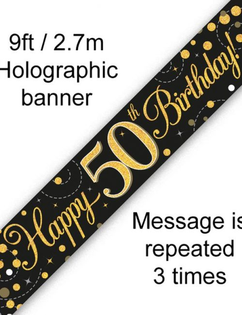 Banner Black Fizz 50th