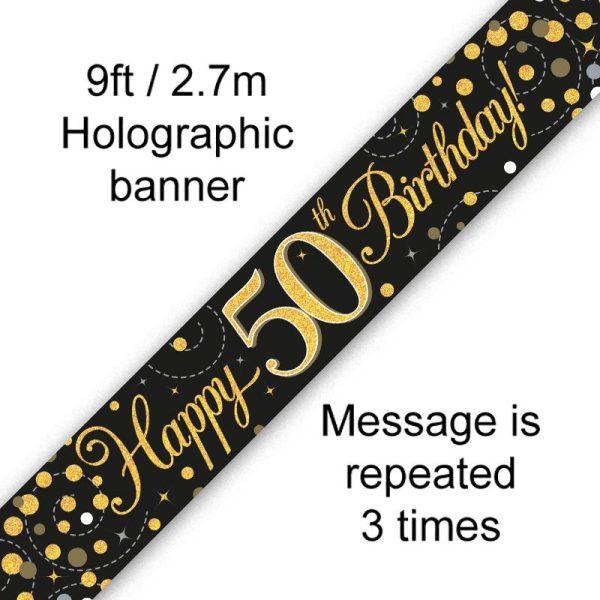 Banner Black Fizz 50th