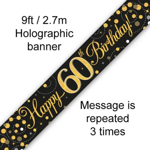 Banner Black Fizz 60th
