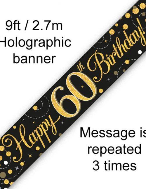 Banner Black Fizz 60th