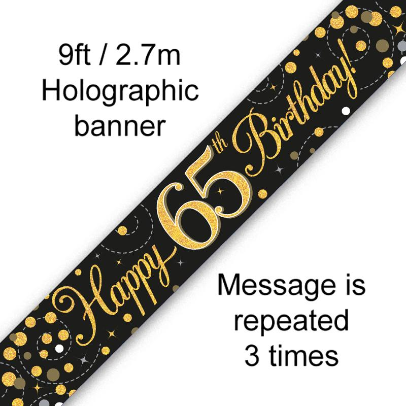Banner Black Fizz 65th