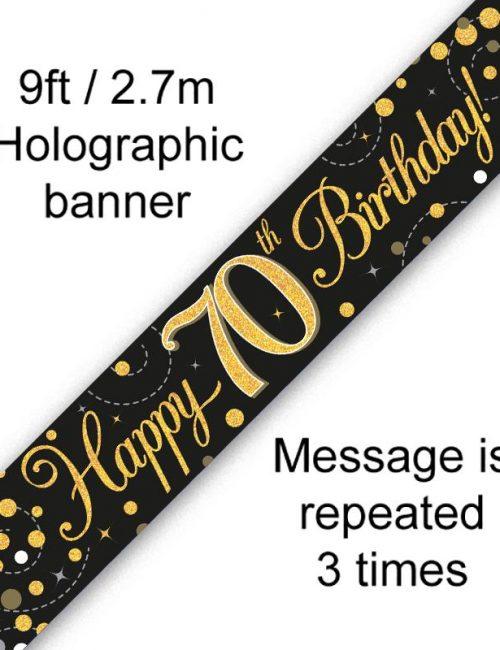 Banner Black Fizz 70th
