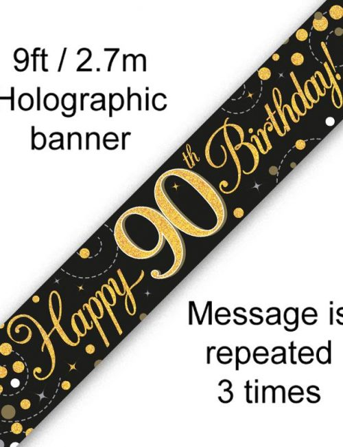 Banner Black Fizz 90th