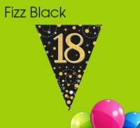Black Fizz Bunting