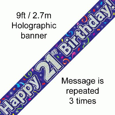 Banner Streamer 21st