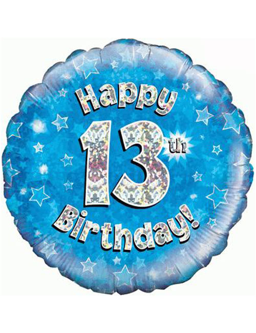 13th Foil Birthday Balloon