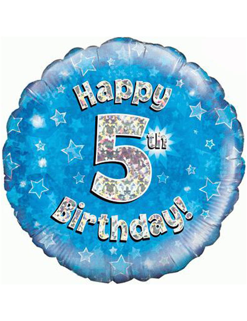 5th Foil Birthday Balloon