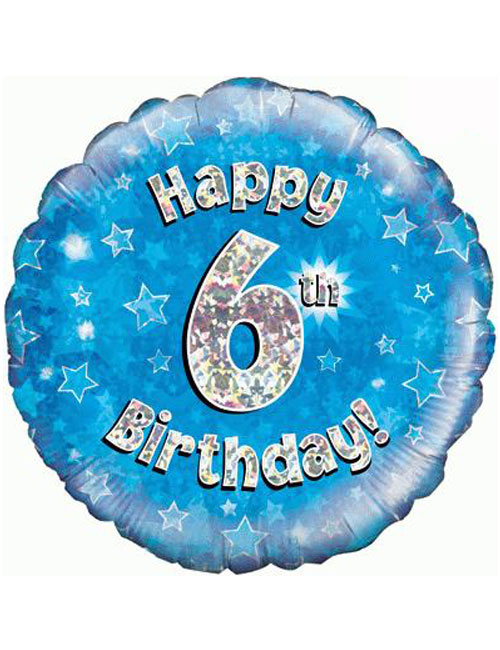 6th Foil Birthday Balloon
