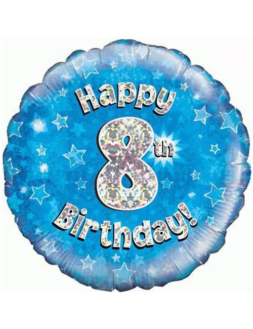 8th Foil Birthday Balloon