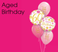Aged Birthday Bouquets
