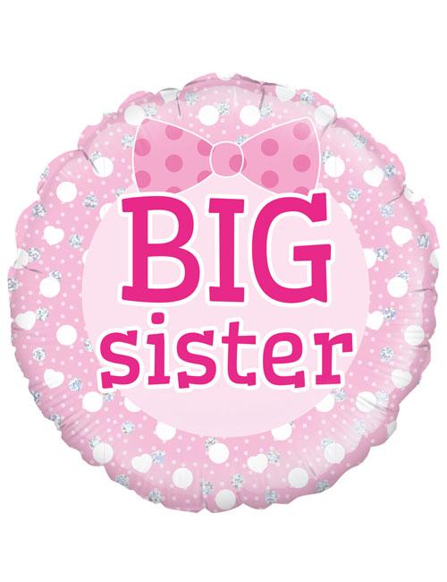 """18"""" Big Sister Balloon"""