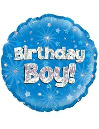 """18"""" Blue Birthday Boy"""