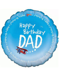 "18"" Happy Birthday Dad"