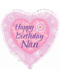 "18"" Happy Birthday Nan"