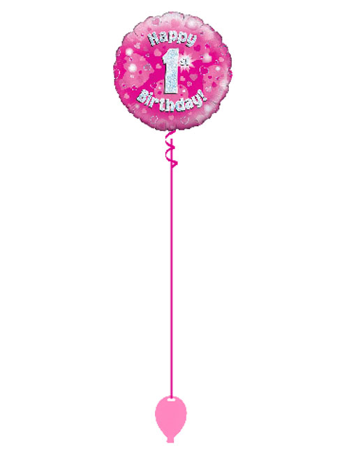 Pink Its Foil Balloon