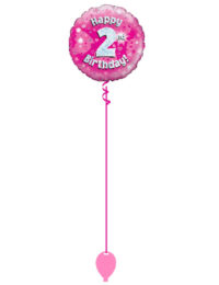Pink 2nd Foil Balloon