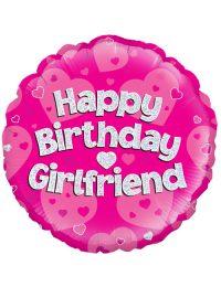 "18"" Pink Birthday Girlfriend"