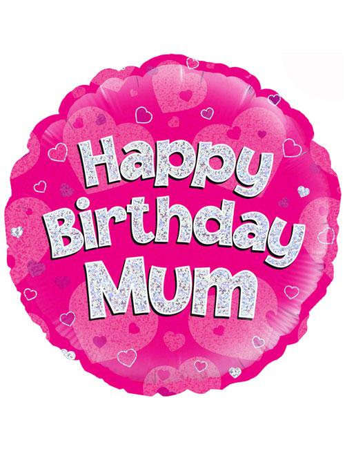 """18"""" Pink Birthday Mum"""