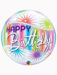 "22"" Bubble Birthday Sorbet Starblast"