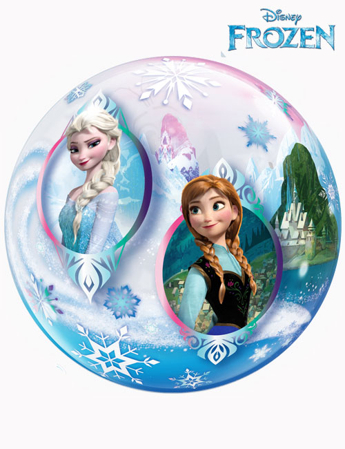 "22"" Bubble Disney Frozen with Olaf"