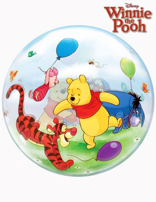 "22"" Bubble Winnie The Pooh & Friends"