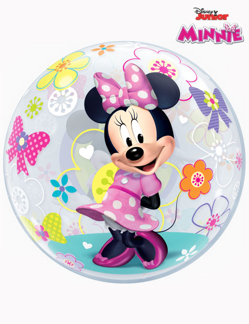 """22"""" Bubble Disney Minnie Mouse Bow-Tique"""