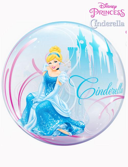 """22"""" Bubble Disney Cinderella's Royal Debut"""