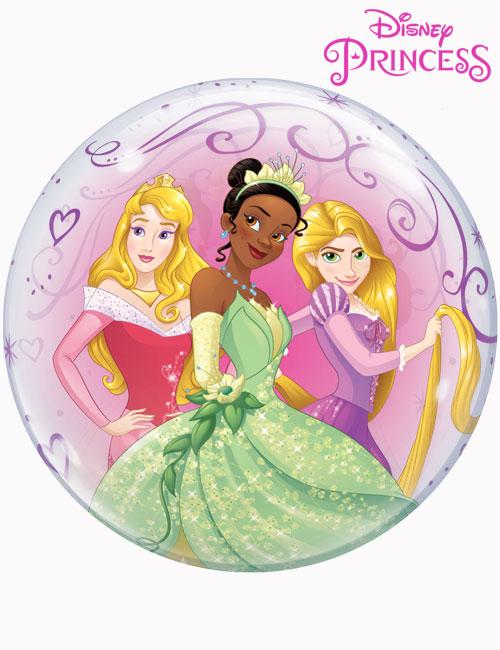 """22"""" Bubble Disney Beautiful Princesses"""