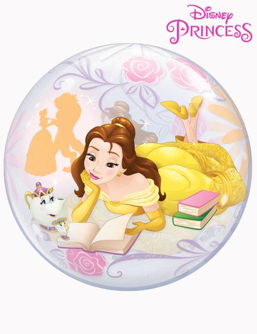 """22"""" Bubble Disney Princess Belle"""