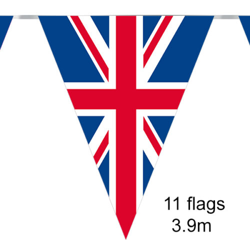 Party Bunting Union Flag 11 flags 3.9m
