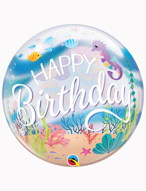 "22"" Bubble Mermaid Birthday Party"