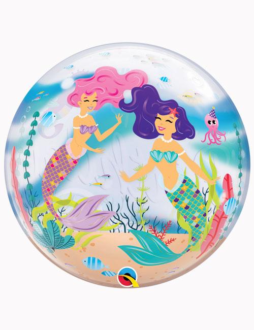 """22"""" Bubble Mermaid Birthday Party"""