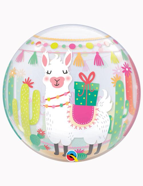 """22"""" Bubble Llama Birthday Party"""