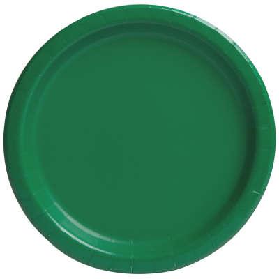 """9"""" Dinner Plates x 8 Emerald Green"""