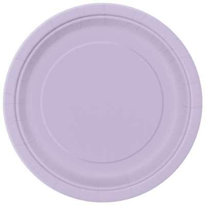 "9"" Dinner Plates x 8 Lavender"