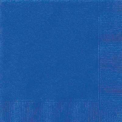 Luncheon Napkins x 20 Royal Blue