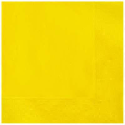 Luncheon Napkins x 20 Sunflower Yellow