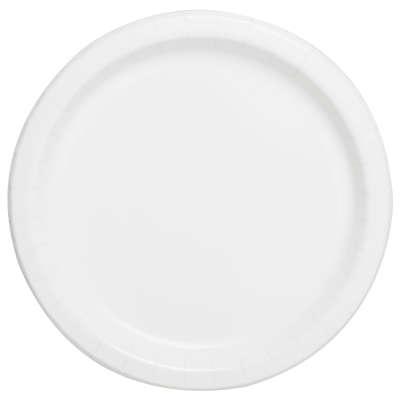 """9"""" Dinner Plates x 8 White"""