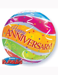 """22"""" Bubble Anniversary Colourful Bands"""