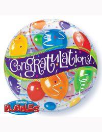 """22"""" Bubble Congratulations"""