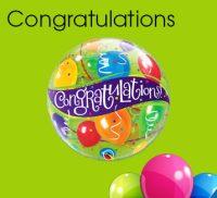 Congratulations Bubble