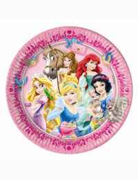 Disney Princess Plates 23cm (Pack of 8)