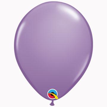 "11"" Plain Fashion Spring Lilac Latex Balloons (Pack 6)"