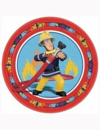 Fireman Sam Party Plates 23cm (Pack of 8)